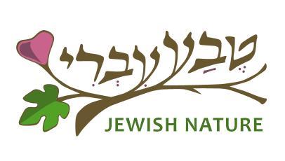 לוגו טבע עברי